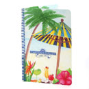 Spiral Bound Pool Menu Printed 4 Color on Tear Resistant Stock