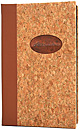 Padded Cork Material Cover with Copper Tip-in Logo