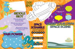 4 Color 2 sided placemat  Inventory #52946 1,000 blank menus $250 Set-up and Imprint 1-color: Addtl: $149